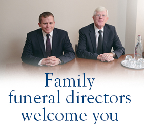 Family funeral directors welcome you